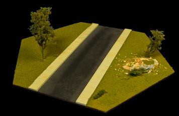 Straight Road Hex - 15MHEX002