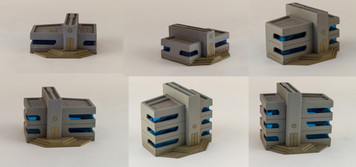 6mm Ultra Modern / Future City Buildings (6) - 285CSS052