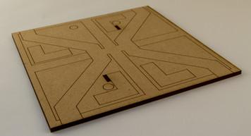 City Tile, (MDF) - EPICTILE007-3