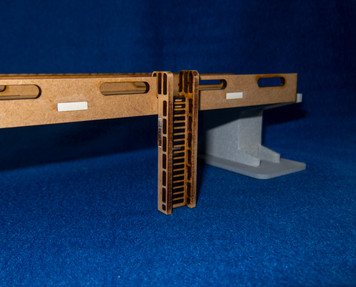 "12"" Straight Roadway Section With Ladder Access, 4 Lane - 15MROAD109-2"