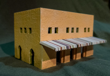 15mm Two Story Building (MDF) - 15MMDF129