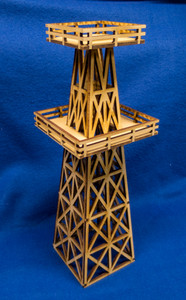 Oil Drilling Tower (Oil Derrick) - MDF - 15MMDF161