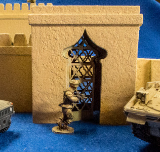 28mm Temple Walls Door Kit - 28MMDF160-2D