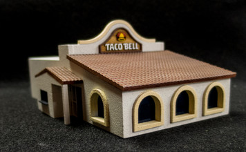 15mm Taco Bell Store (MDF) - 15MMDF163