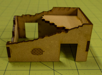 Middle East One Story Building (MDF) - 15MMDF010-D
