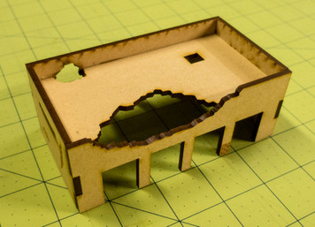 Middle East One Story Building (MDF) - 15MMDF011-D