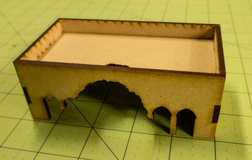 Middle East One Story Building (MDF) - 15MMDF013-D