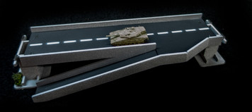 Side Ramp Roadway Section, 2 Lane - 285ROAD156-1