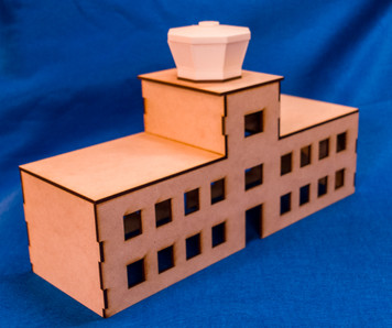 15mm Airport Terminal Building with Control Tower - 15MMDF167