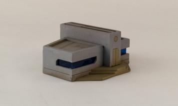 10mm Sci-Fi Future World Building (Matboard) - 10MCSS252-2