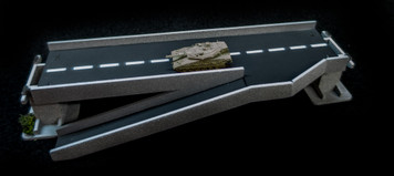 Side Ramp Roadway Section, 2 Lane - 10MROAD156-1