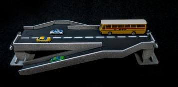 Double Side Ramp Roadway Section, 2 Lane - 10MROAD157-1