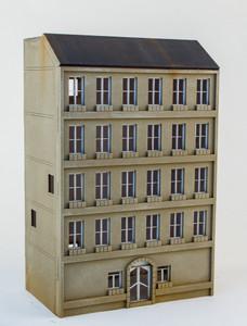 15mm European City Building (Matboard) - 15MCSS100
