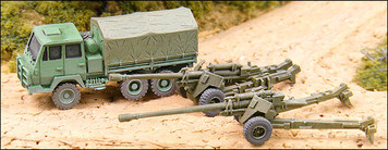 130mm Howitzer with SX190-7 prime mover - RC17