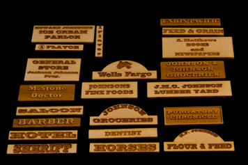 Old West Signs V2.0 - 28MWEST101
