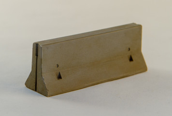 28mm Concrete Barriers, K-Rails (5 Per Kit) - 28MSCE004