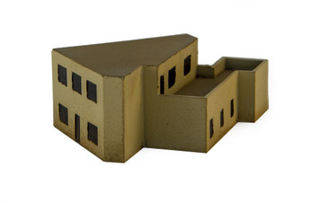 Middle Eastern Building  (Resin) - 285MEV079
