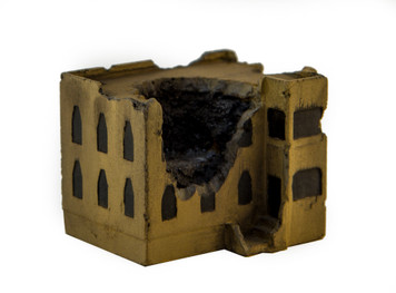 Middle Eastern Building, Ruined (Resin) - 285MEV083