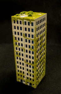 10mm DZC City Building (Matboard) - 10MCSS007-1