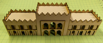 15mm Middle Eastern Building - 15MMDF085-2