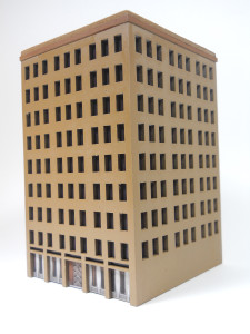 City Building (MatBoard) - 10MCSS025
