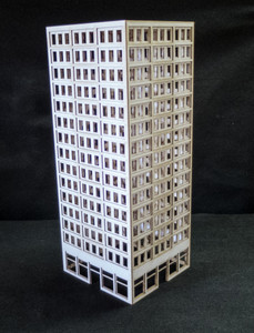 10mm Large DZC City Building (Matboard) - 10MCSS018