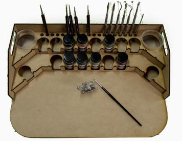 Painting Station - 34mm for GW, Citadel, Model Master, etc