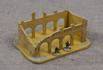 20mm Ruined Building - 20MMDF057