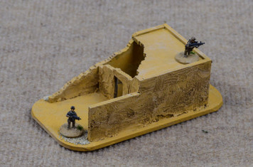 20mm Ruined Afghan Style Hovel - 20MMDF072
