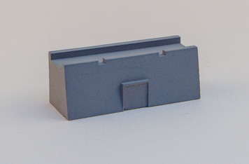 "Vauban Fortress Wall - 2"" Straight w/Door - 285VAB002"