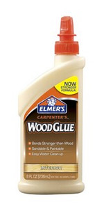 Elmers Carpenters Wood Glue 4oz - Great for MDF Kits