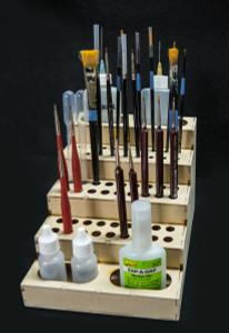 Brush and Glue Rack
