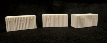 15mm Temporary Office / Habitats (3 per set) - 15MSCE031