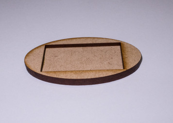 25mm x 50mm Conversion Base (Oval)