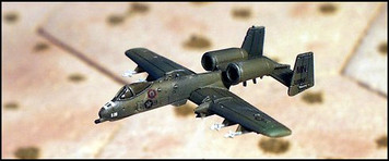A-10 Warthog - Ground Attack aircraft (1/pk) - AC5