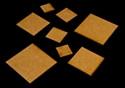 "3/4"""" x 4"" (19mm x 102mm) Rectangle Base (MDF)"