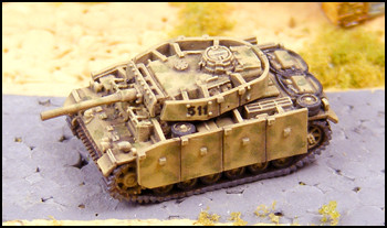 Panzer III L with Sideskirts - G560