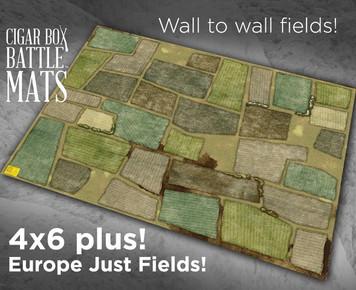 Battle Mat - Europe, Just Fields