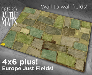 Battle Mat - Europe, Just Fields