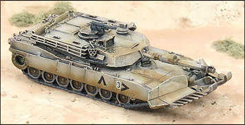 M1A2 Abrams MBT with Mine Plow (4/pk) - N132