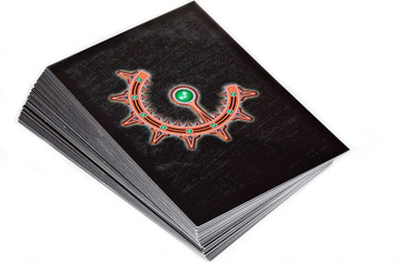 Dropzone Commander: Shaltari Command Cards