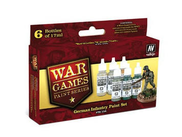 Model Color Set: German Infantry Paint Set (6)