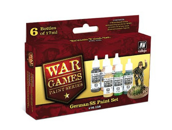 Model Color Set: German SS Paint Set (6)
