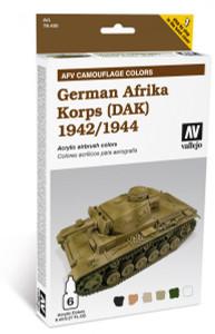Model Air Set: AFV System Camouflage Colors German Afrika Korps (DAK) 1942-1944