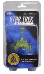 Star Trek Attack Wing: Wave 01 Klingon I.K.S. Kronos One Expansion Pack