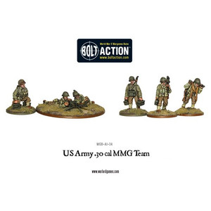 Bolt Action: US Army 30 Cal MMG Team