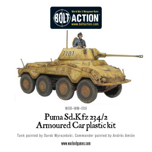 Bolt Action: German Puma SdKfz 234/2 Armoured Car (plastic)