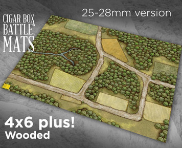 Battle Mat - Wooded (28mm Version)