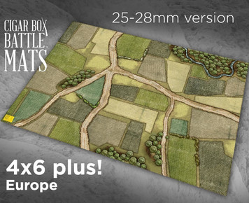 Battle Mat - Europe (28mm Version)
