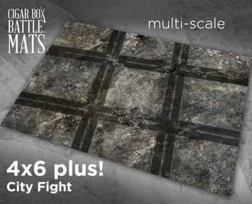Battle Mat - City Fight